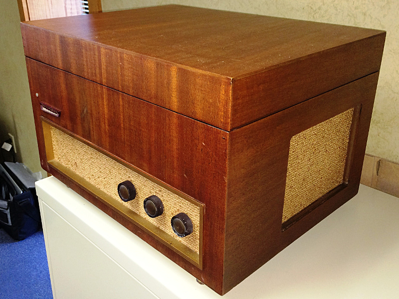 Webcor Mt1655 01 Vintage Record Player